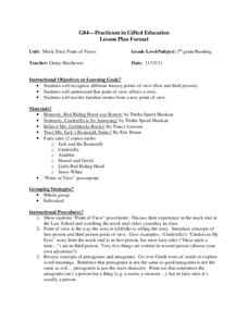 Points of View Lesson Plan