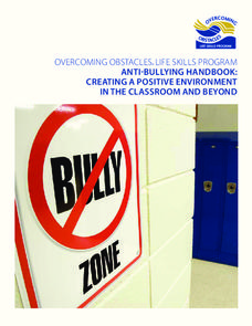 Anti-Bullying Handbook: Creating a Positive Environment in the Classroom and Beyond Unit