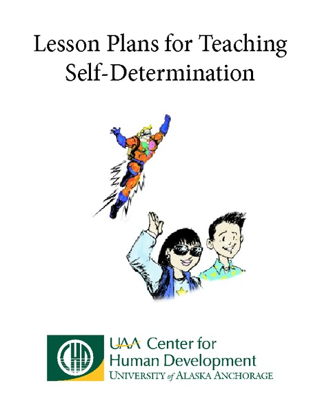 Lesson Plans for Teaching Self-Determination Unit
