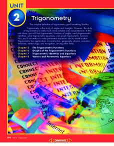 The Trigonometric Functions Unit