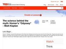 "The Science Behind the Myth: Homer's ""Odyssey"" Video"