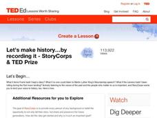 Let's Make History…By Recording It Video