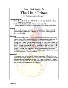 The Little Prince: Picture Book Strategy Lesson Plan