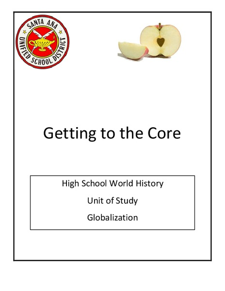 Getting to the Core: Globalization Unit