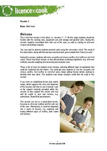 Batch Bake Lesson Plan