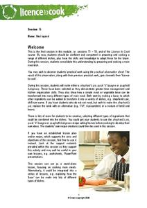 Meal Appeal Lesson Plan