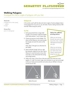 Walking Polygons Activities & Project