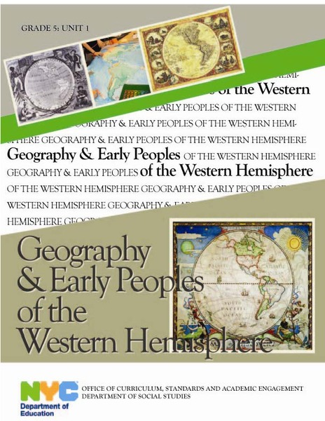 Geography and Early Peoples of the Western Hemisphere Unit