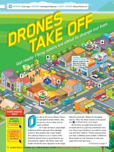 Drones Take Off Lesson Plan