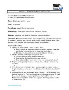 How Water Pollution Is Cleaned Up Lesson Plan