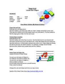 Shape It Up! Activities & Project