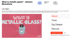 What Is Metallic Glass? Video