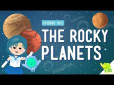 Weather in Space (The Rocky Planets) Video
