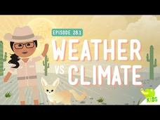 Weather vs. Climate Video