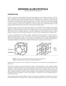 Crystals Lesson Plans & Worksheets | Lesson Planet