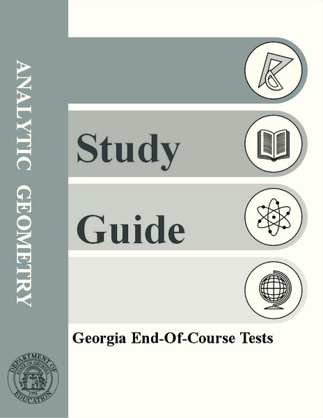 Analytic Geometry Study Guide Assessment