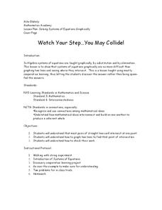 Watch Your Step…You May Collide! Lesson Plan