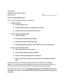 Geometry Project Activities & Project