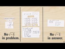 Imaginary Numbers Are Real (Part 4: Bombelli's Solution) Video