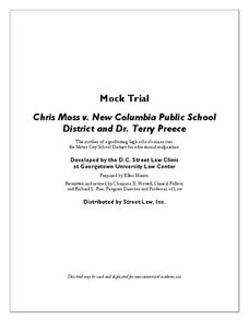 chris moss vs dr terry preece and the edgewoord unified school district Chris moss vs dr terry preece and the edgewoord unified school district 11-11-2017 a lab  a biography of mildred ella didrickson born as mildred ella.