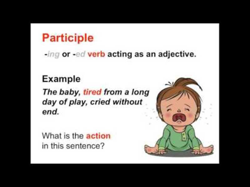 Verbals: Gerunds, Infinitives, and Participles | Parts of Speech App Video