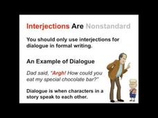Interjections | Parts of Speech App Video