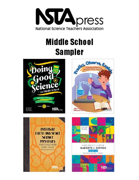 Middle School Sampler: Science Lesson Plan