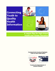 Connecting Youth to Quality Health Information Lesson Plan