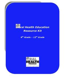 Oral Health Education Resource Kit Unit