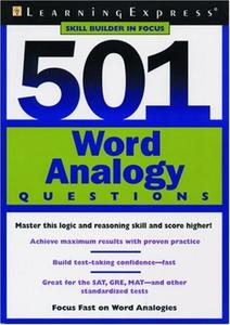 Word Analogy Questions Worksheet
