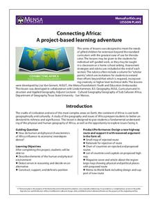 Connecting Africa: A Project-Based Learning Adventure Lesson Plan
