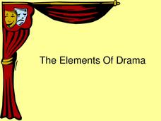 The Elements of Drama Presentation