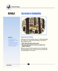 Succession in Communities Activities & Project