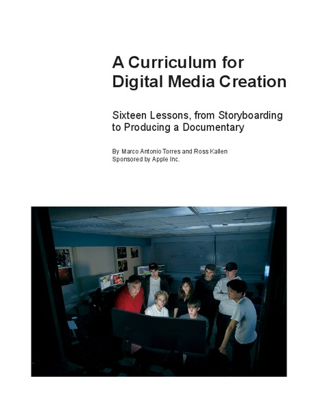 A Curriculum for Digital Media Creation Unit