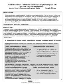 Propaganda Techniques Lesson Plans & Worksheets Reviewed by Teachers