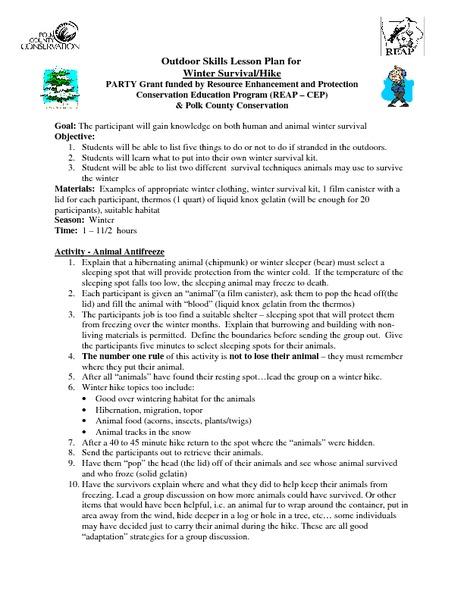 Hibernation Migration Lesson Plans & Worksheets Reviewed by Teachers