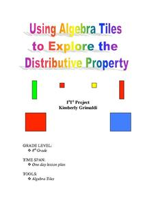 Algebra tile lesson plans worksheets lesson planet using algebra tiles to explore distributive property lesson plan ibookread PDF