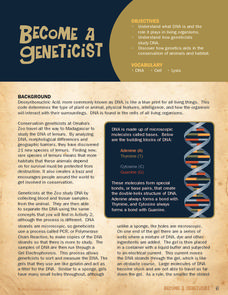 Become a Geneticist Lesson Plan