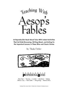 Teaching with Aesop's Fables Lesson Plan
