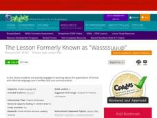 "The Lesson Formerly Known as ""Wassssuuup"" Lesson Plan"