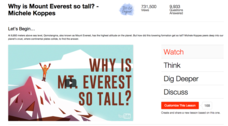 Why is Mount Everest so Tall? Video