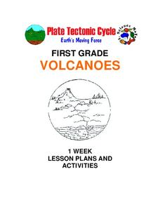 Plate Tectonics Cycle — First Grade