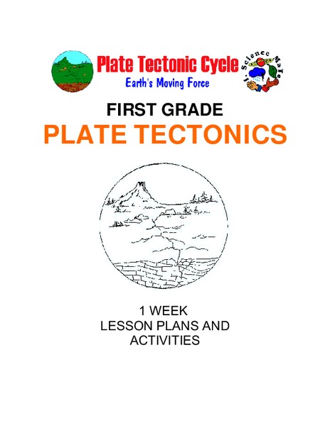 Plate Tectonics: First Grade Lesson Plans and Activities Unit