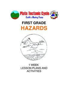 Hazards: First Grade Lesson Plans and Activities Unit