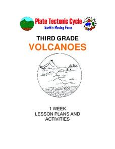 Volcanoes: Third Grade Lessons Plans and Activities Unit
