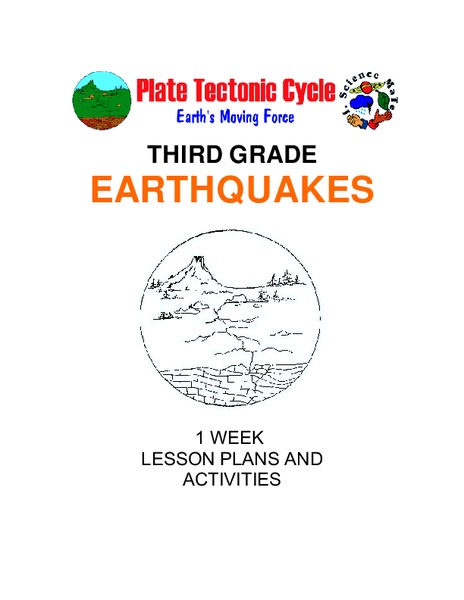 Earthquakes: Third Grade Lesson Plans and Activities Unit