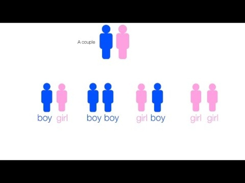 Boy Girl Conditional Probability Video