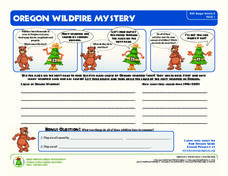 Oregon Wildfire Mystery Worksheet