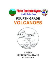 Plate Tectonics Cycle — Fourth Grade