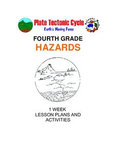 Hazards: Fourth Grade Lesson Plans and Activities Unit